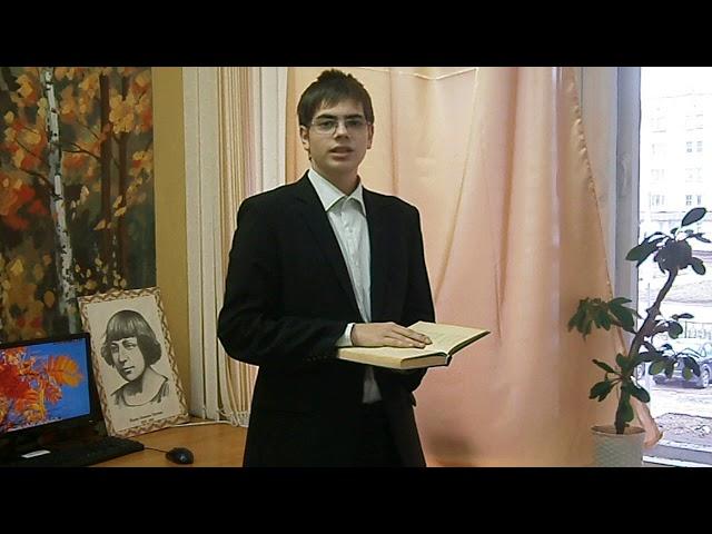 Изображение предпросмотра прочтения – ПавелСадовников читает произведение «Уж сколько их упало в эту бездну...» М.И.Цветаевой