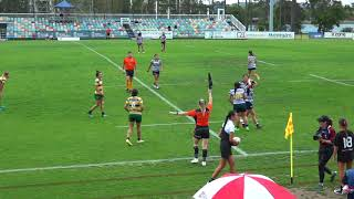 2018 Girls Rugby 7's State Titles - Game ... U17 Darling Downs v Gold Coast