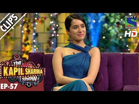Shraddha Kapoor mimics her father's dialougue -The Kapil Sharma Show–5th Nov 2016