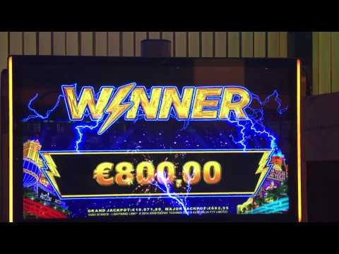 Lightning Slots 32x Bonus Game - 25 Euro Bet - Holland Casino Nijmegen