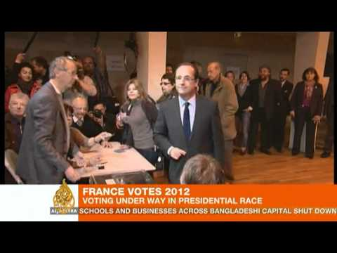 France votes in presidential election