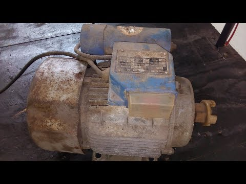 Electric Motor Restoration | Pressure Washer Electric Motor Restoration