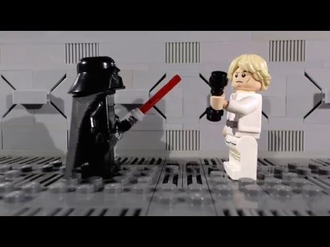 Lego Star Wars: The Force (Awakens) from Within (Stop-motion animation / brickfilm) comedy film