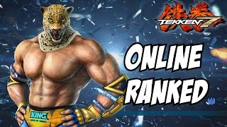 Tekken 7 King gameplay ps4 online ranked matches