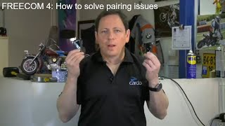FREECOM 4 - How to solve pairing issues