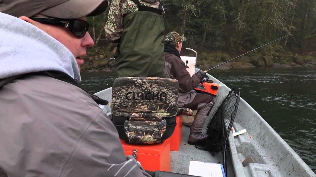 Sandy river winter steelhead fishing youtube for Sandy river fishing report