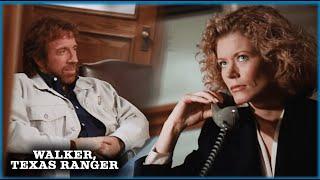 Alex And Walker's First Scene | Walker, Texas Ranger