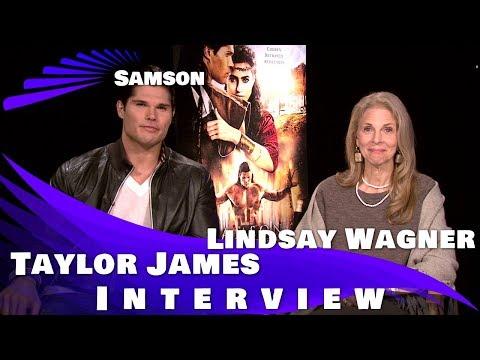 SAMSON - TAYLOR JAMES & LINDSAY WAGNER INTERVIEW
