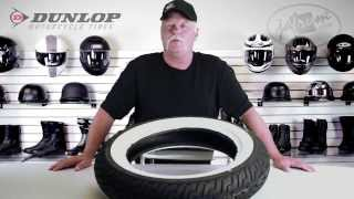 Dunlop D402 Harley Davidson Rear Motorcycle Tire Review - Jafrum.com