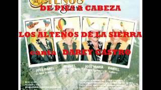 LOS ALTEÑOS DE LA SIERRA - DE PIES A CABEZA ( SIERREÑO) CANTA DAREY CASTRO