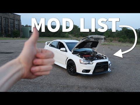 Why the Evo X is the Best Car To Modify