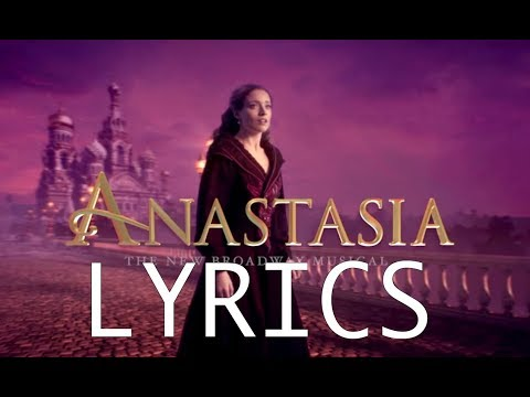 LYRICS - In My Dreams - Anastasia Original Broadway CAST RECORDING