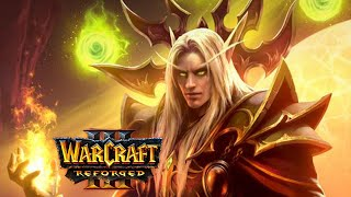 Kael'thas Joins Illidan vs. Kil'jaeden - All Cutscenes [Warcraft 3: Frozen Throne]
