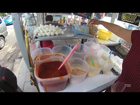 Greater Jakarta Street Food 1400  Cimol Bubat Rasa Kacang Basah dll Buah Batu Bandung