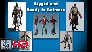 Download Free High Quality 3dsMax Character Rigs That Are Ready To Animate (Quick Tips)