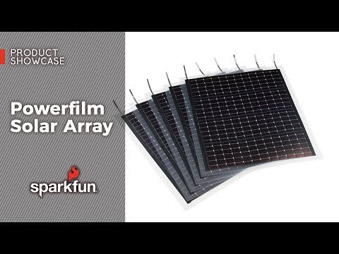 Product Showcase: Powerfilm Solar Array