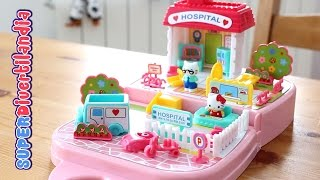 El Hospital de Hello Kitty  (My Tiny Town) - Hello Kitty Toys.