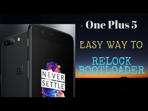 Locking the bootloader - Stock Recovery and ROM - OnePlus Community