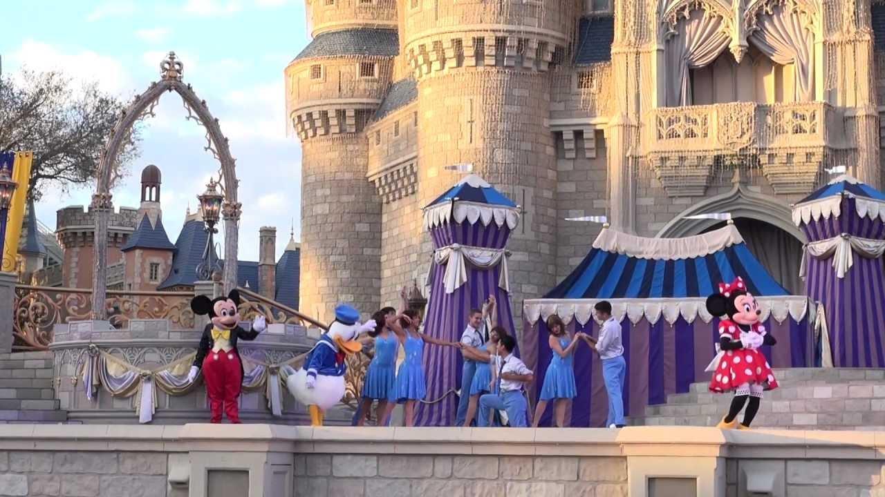 Dream Along With Mickey Magic Kingdom 2013 Jan Youtube