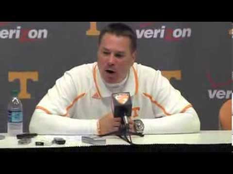 Butch Jones- South Carolina Post Game (10-19-13)