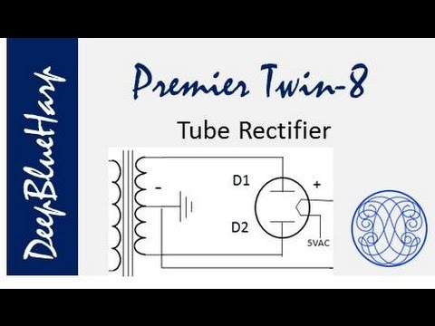 PT8.7 Vacuum Tube Rectifier Calculations