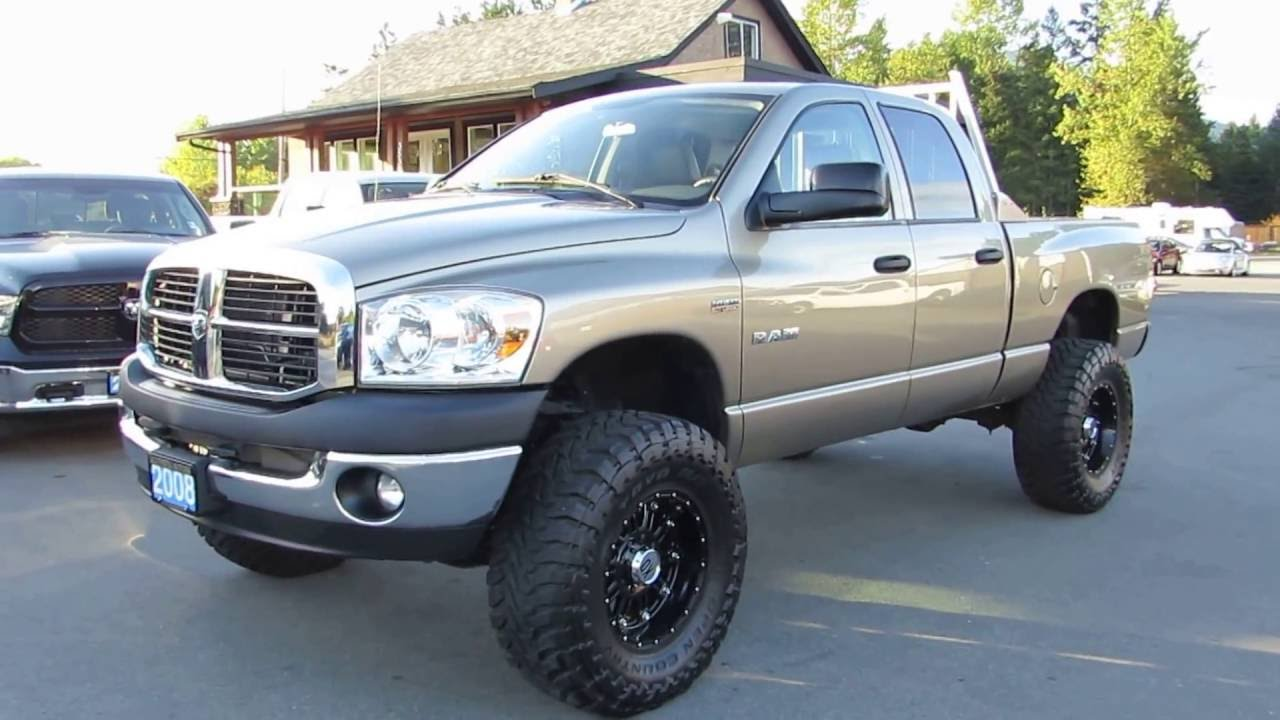2008 dodge ram 1500 lifted 4x4 at kolenberg motors ltd doovi. Black Bedroom Furniture Sets. Home Design Ideas