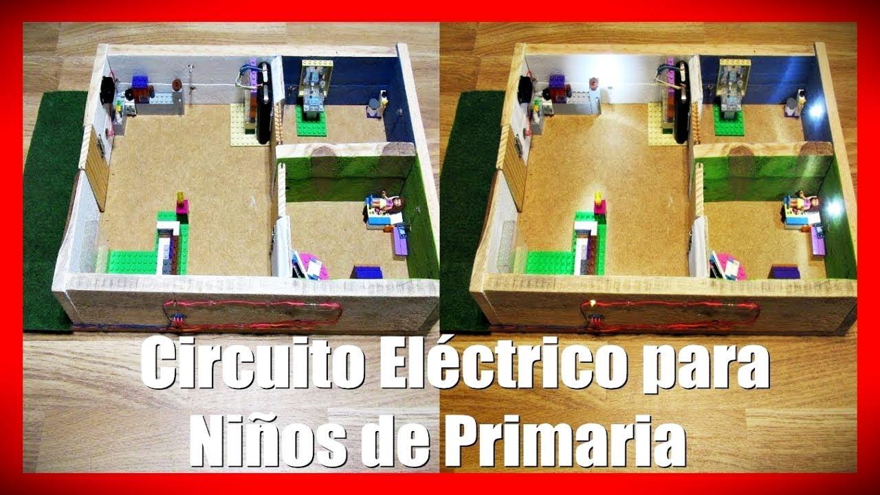 Circuito Electrico Simple Para Niños : ▷ como hacer un circuito eléctrico para niños de primaria