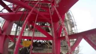 Shanghai Tower climb | Climbing second tallest tower without any precaution by two Russian