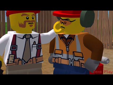 Лена Play Lego Movie / Обзор игры lego / lego games 2016 /  lego toys