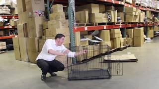 Tv Host Bill Confidence Live Presents The All New Oxgord Pet Cage For Dogs