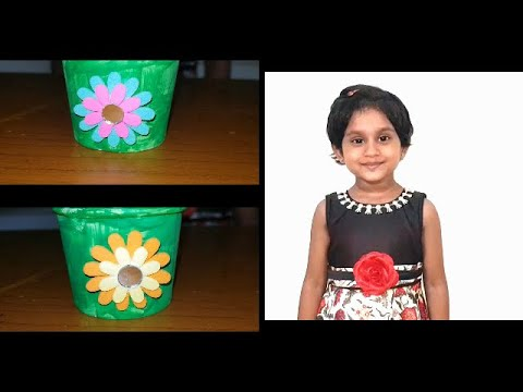 Kids Paper Cup Ideas | Best Out Of Waste Craft Ideas | Diy decoration ideas from paper cup | Craft
