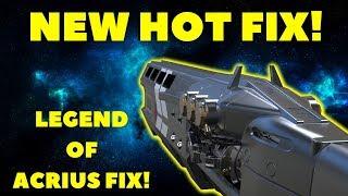 Destiny 2 News: NEW HOT FIX! LEGEND OF ACRIUS QUEST FIXED! RAID GLITCH FIXED, DEAD ORBIT SCOUT!