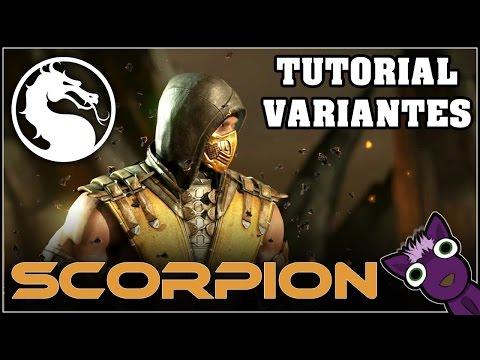 Mortal Kombat X (PS4), Tutorial de variantes - SCORPION - Español