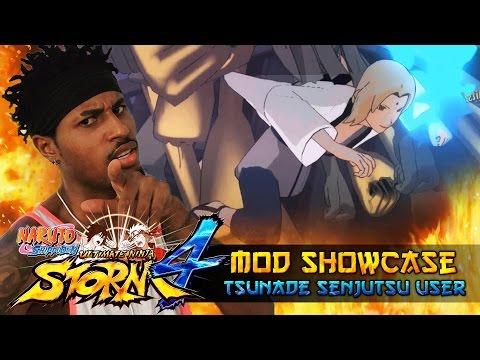 Tsunade Senju Wood Style Senjutsu!!! Naruto Shippuden ultimate Ninja Storm 4 Mods |