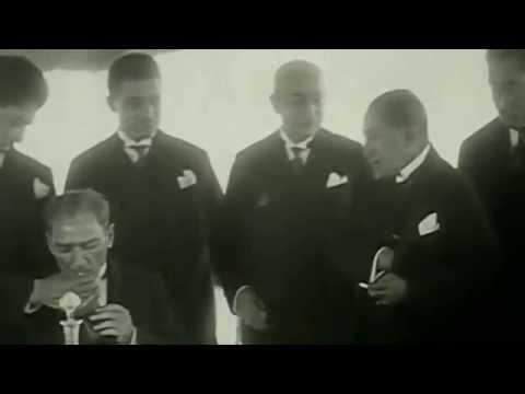 Atatürk'ün yakından çekilmiş fazla bilinmeyen görüntüleri
