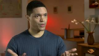 "Conversation with Trevor Noah, author and narrator of ""Born a Crime"""