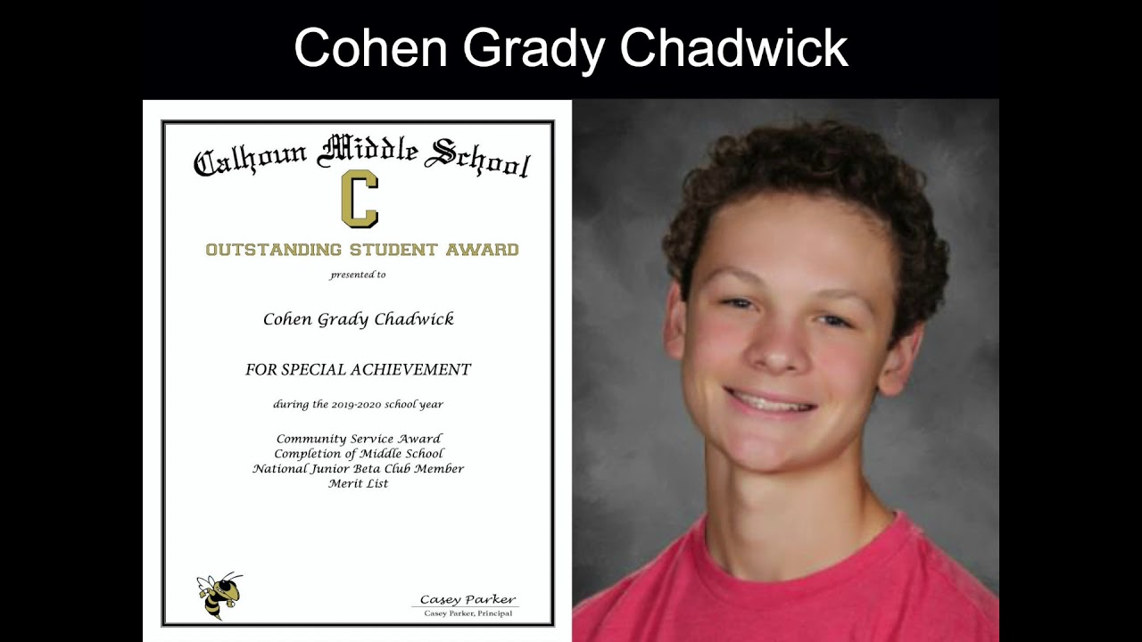 Download 8th Grade CMS Awards Ceremony