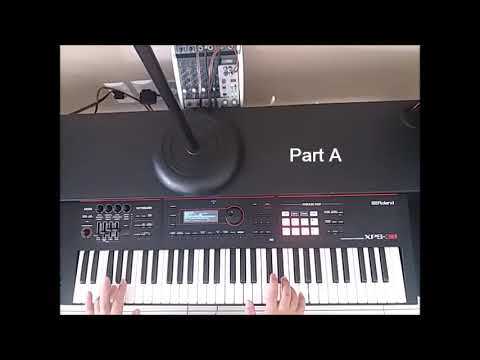 Faith No More TUTORIAL KEYBOARDS - 02 EDGE OF THE WORLD
