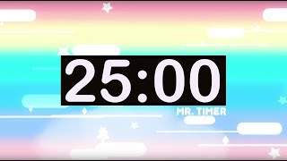 25 Minute Timer with Music for Kids! Online Countdown Timer!