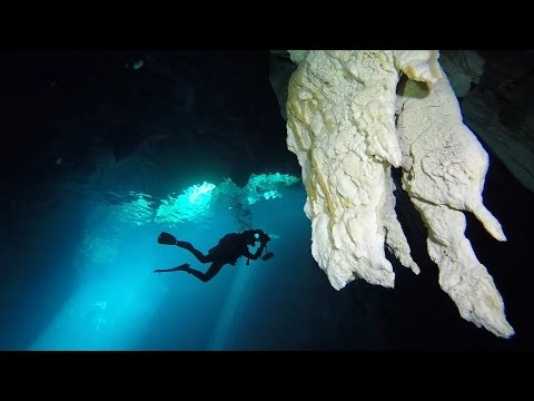 GoPro: Exploring Mexico's Cenotes