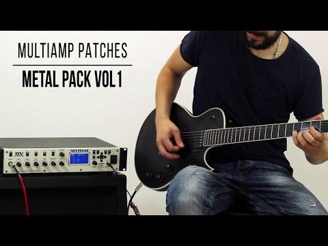 DV Mark Multiamp Patches: Metal Pack vol.1