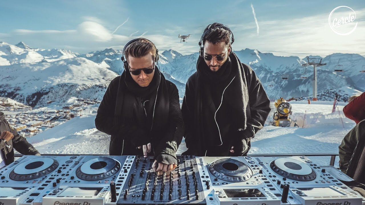 adriatique at signal 2108 alpe d huez in the alps france for cercle