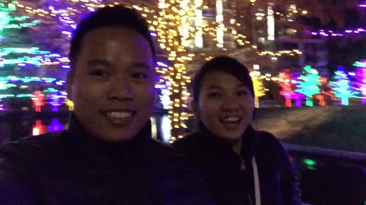 Vitruvian Light Magical Night Addison Tx Youtube Christmas Lights