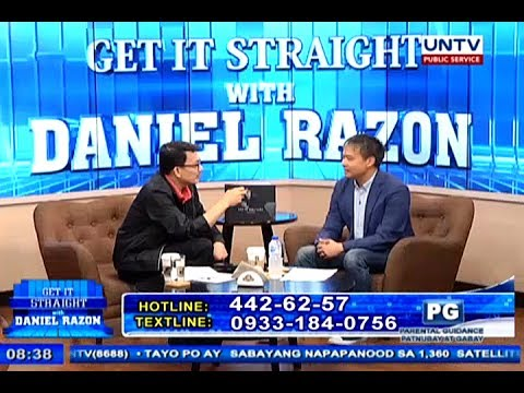 Senator Joel Villanueva talks about 'Fake News' on Get it Straight