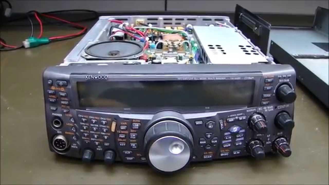 ALPHA TELECOM: KENWOOD TS-2000 EXTREMAMENTE DANIFICADO/OXIDADO POR MARESIA