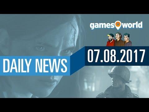 The Last of Us 2, PUBG, Mittelerde: Schatten des Krieges   Gamesworld Daily News - 07.08.2017