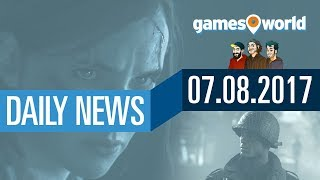 The Last of Us 2, PUBG, Mittelerde: Schatten des Krieges | Gamesworld Daily News - 07.08.2017