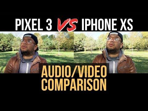 Pixel 3 vs iPhone XS Video Comparison