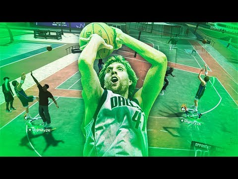 DIRK NOWITZKI'S *GLITCHY* POST MOVES ARE UNGUARDABLE! ALL *NEW* POST MOVES ANIMATIONS ON NBA 2K19!