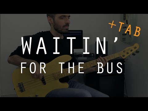 WAITIN' FOR THE BUS - ZZ Top - Bass Cover + TAB/// Bruno Tauzin